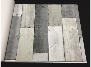 Обои Elements Wooden Wall 30-Pewter