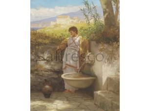 Картина: Генрих Ипполитович Семирадский, Am Brunnen