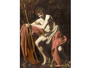 Картина: Караваджо, Святой Иоанн Креститель в пустыне