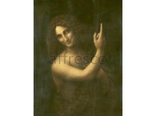 Картина: Леонардо да Винчи, Святой Иоанн Креститель