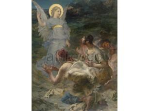Картина: Жюль Бастьен-Лепаж, Благовещение пастухов