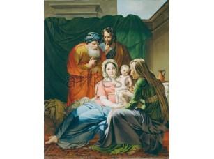 Картина: Жозеф Паелинк. Святая семья