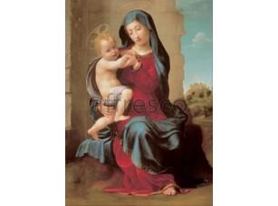Картина: Джулиано Буджардини, Дева и дитя