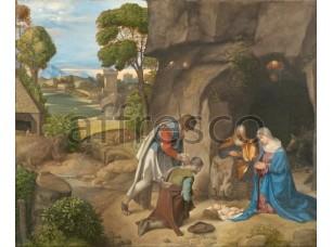 Картина: Джорджоне, Поклонение волхвов