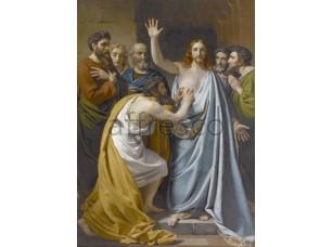 Картина: Франсуа-Жозеф Навез, Недоверие Святого Томаса
