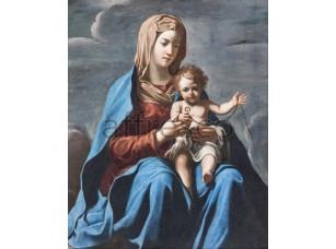 Картина: Франческо Коцца, Мадонна и дитя