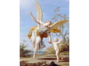 Картина: Франческини Маркантонио, Ангел-Хранитель