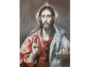 Картина: Эль Греко, Благословляющий Христос