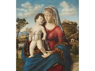 Картина: Чима да Конельяно, Мадонна с младенцем