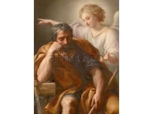 Картина: Антон Рафаэль Менгс, Сон святого Иосифа