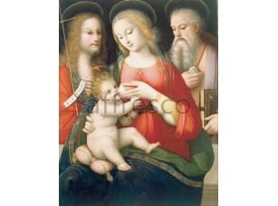 Картина: Андреа Пиккинелли, Мадонна с младенцем