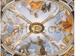 Картина: Аньоло Бронзино, Потолок часовни Элеоноры Толедо