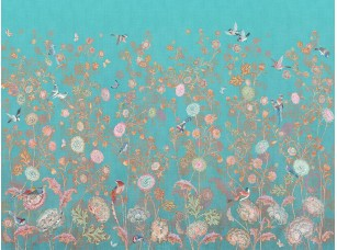 Обои и панно, Коллекция  Цветариум Bird kingdom Color 3