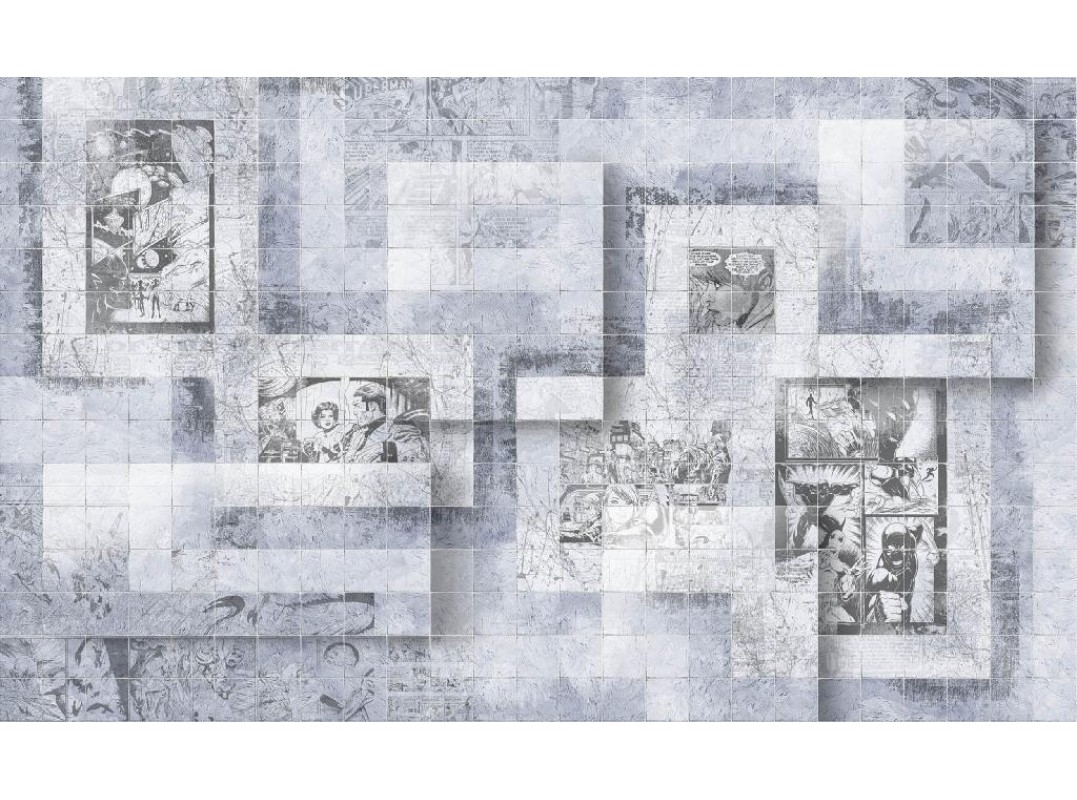 Обои и панно, Коллекция Re-Space, арт.  ID113-COL3