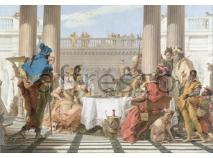 Картина: Джованни Баттиста Тьеполо, Пир Клеопатры»