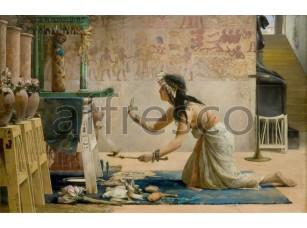 Картина: Джон Вегелин, Похороны египетского кота