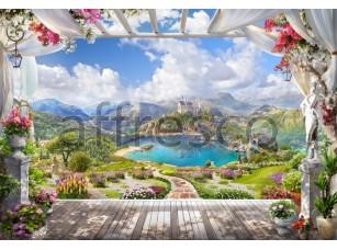 Фрески и фотообои, Лучшие пейзажи, арт. 6481