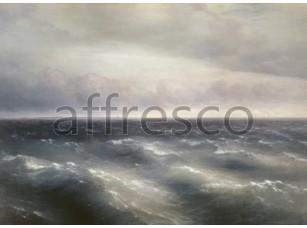 Картина: Ivan Aivazovsky, Black Sea storm starts to be played