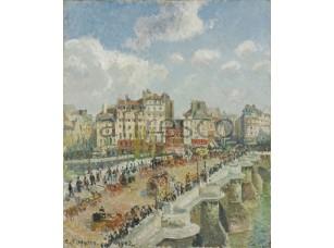 Картина: Камиль Писсарро, The Pont Neuf