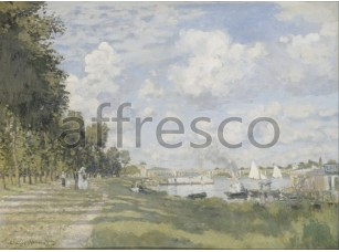 Картина: Клод Моне, Bassin d Argenteuil