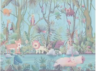 Обои и панно, Коллекция Сказки Affresco, арт. AB614-COL4