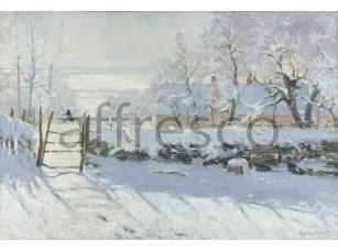 Картина: Клод Моне, Сорока