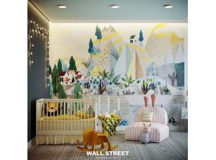 Обои Wall Street City Garden 6