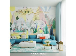 Обои Wall Street City Garden 7