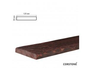 Архитектурная доска, 120х30мм 4,0м, красный сандал