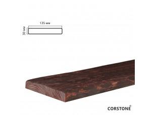 Архитектурная доска, 135х30мм 2,0м, красный сандал