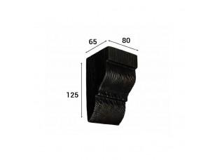Консоль Cosca Deco для балки 90х60мм классика, венге
