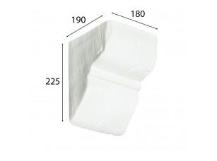 Декоративная консоль Cosca для балки 190х170 (200х130), белый