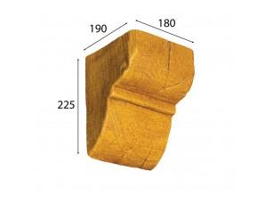 Декоративная консоль Cosca для балки 190х170 (200х130), орех медовый