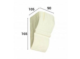 Консоль Cosca Deco для балки 120х120мм рустик, без отделки