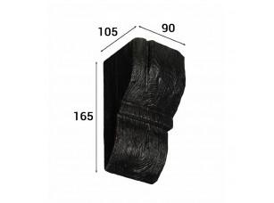 Консоль Cosca Deco для балки 120х120мм рустик, венге