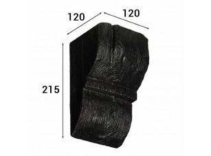 Консоль Cosca Deco для балки 150х120мм рустик, венге