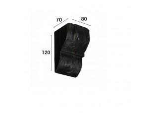Консоль Cosca Deco для балки 90х60мм рустик, венге