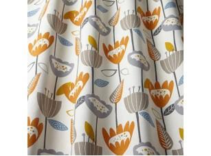 Nordic / Flower Power Tangerine ткань