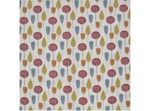 Scandi/ Scandi Trees Scarlet ткань