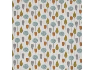 Scandi/ Scandi Trees Tangerine ткань