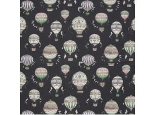 Floral Pavilion/ Balloons Ebony ткань
