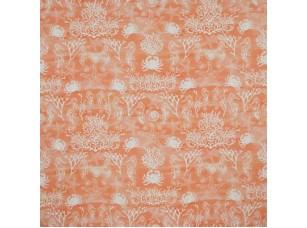 Sea and Sand / Seahorses Coral ткань