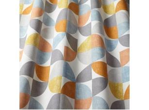 Nordic / Spiral Tangerine ткань