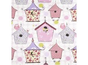 Kids / Birdhouse Pink ткань