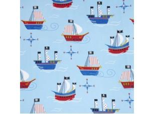 Kids / Pirates ship Nautical ткань
