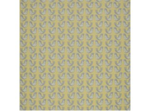 Scandi/ Scandi Birds Mustard ткань