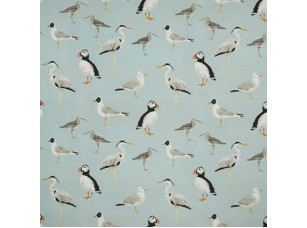 Sea and Sand / Seabirds Aqua ткань