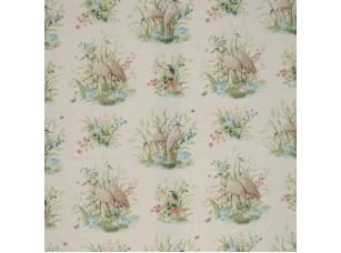 Floral Pavilion/ Waterbirds Velvet Antique ткань