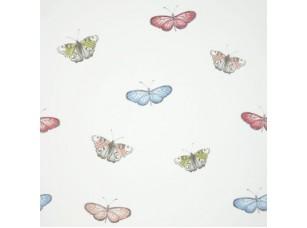 Decoupage / Butterfly vintage Powder blue обои