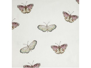 Decoupage / Butterfly vintage Powder blue ткань